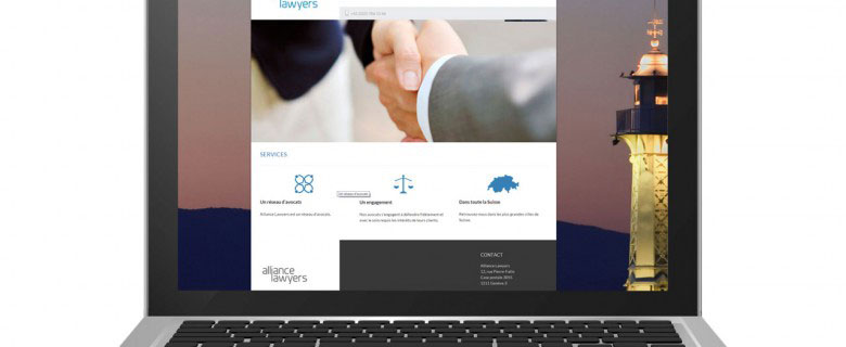 Webdesign – Alliance Lawyers