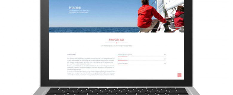 Webdesign – B&T Relocation