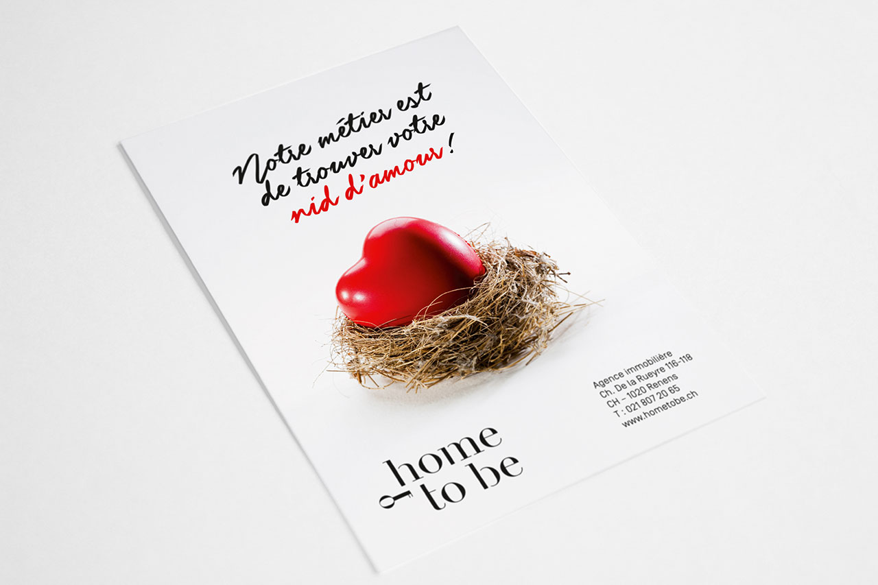 Flyer – Home To Be – Nid d'amour