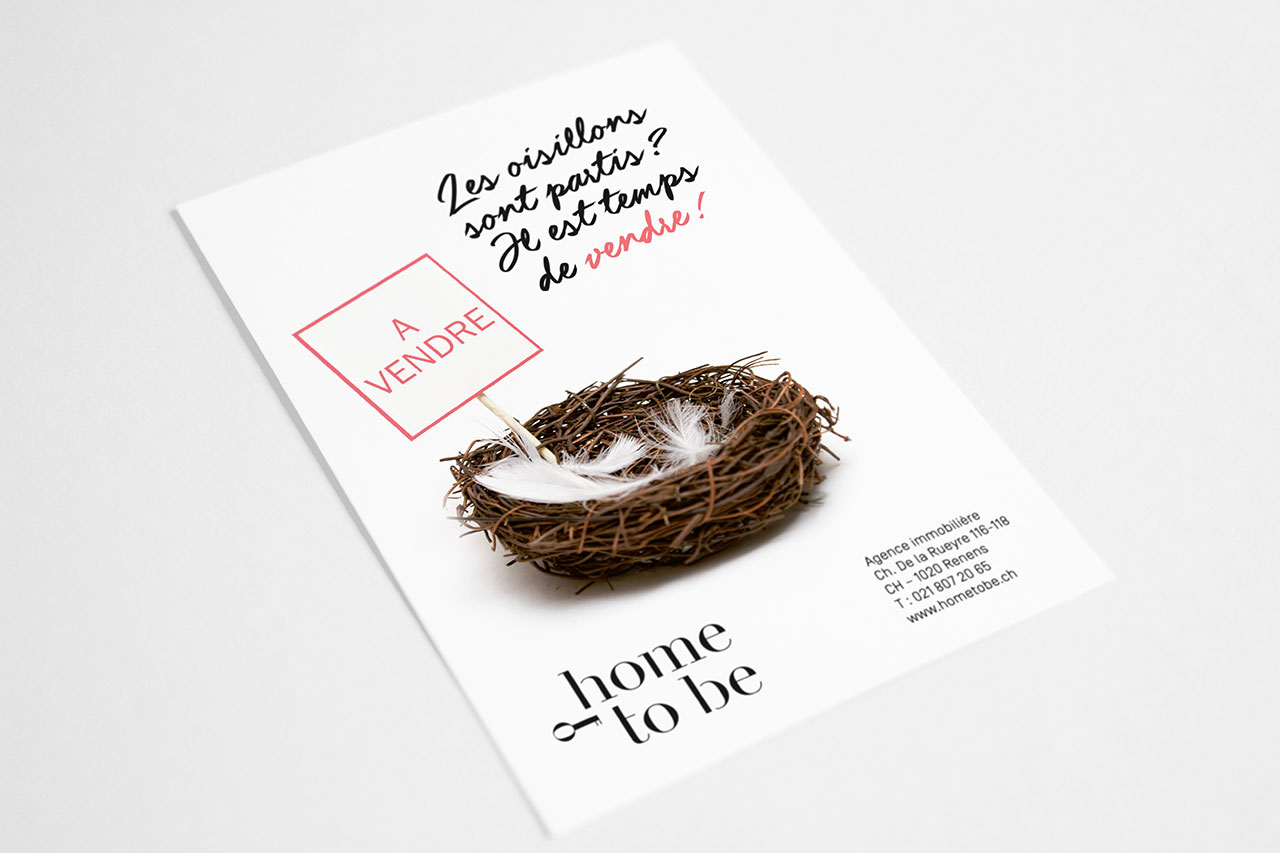 Flyer – Home To Be – Oisillons