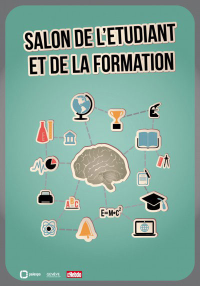 Affiche Salon de l'étudiant et de la formation – Autocollants