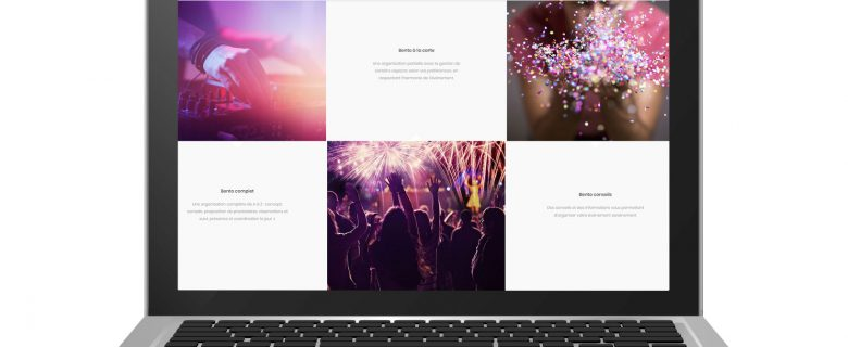 Webdesign – Bento Events
