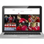 Webdesign – Coupe Davis Fan Zone